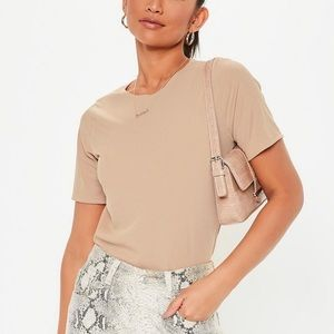 Missguided | Ribbed Box T-shirt